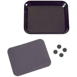 Absima 3000061 Aluschale mit Magnetplatte