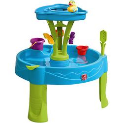 Summer Showers Splash Tower Wasserspieltisch blau/grün