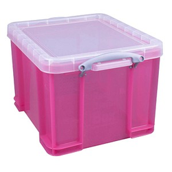 Really Useful Box Aufbewahrungsbox 35,0 l pink 48,0 x 39,0 x 31,0 cm