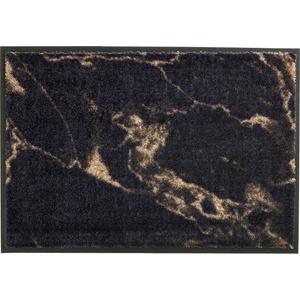 Schöner Wohnen Fußmatte Miami Design 001, Farbe 044 Marmor anthrazit-taupe 50 x 70 cm