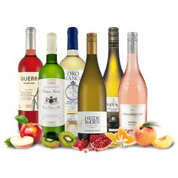 Probierpaket Rosé- und Weißwein-Saisonpaket