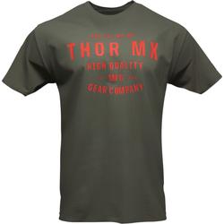 Thor Crafted, T-Shirt - Grün/Rot - XL