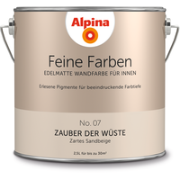 Alpina Feine Farben 2,5 l No. 07 zauber der wüste