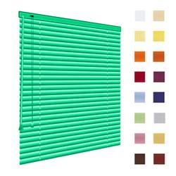 Alu-Jalousien, Jalousien, Horizontaljalousien, Farbe gruen, auf Mass gefertigt oder in Standardgroessen, weitere 100 Farben verfuegbar