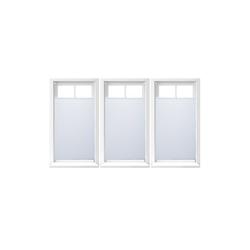 Plissee 3 x Plissee Rollo weiß 90x210 cm, relaxdays