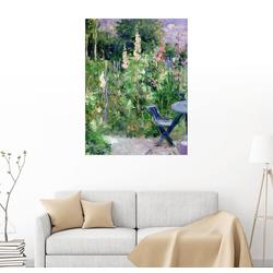 Posterlounge Wandbild, Stockrosen 60 cm x 80 cm
