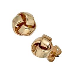 JOBO Paar Ohrstecker, Knoten 585 Gold