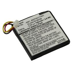 Akku für TomTom Via 120, 125, 150, Li-Ion