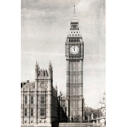 queence Acrylglasbild Big Ben 80 cm x 120 cm x 2,4 cm