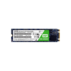 """WD Green PC SSD 240 GB, SATA 6 Gb/s, M.2 2280 SSD Steckkarte"""" (240 GB)"""