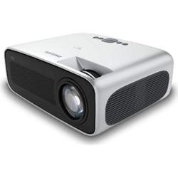 Philips NeoPix Ultra Projektor/Beamer (4.200 LED-Lumen, 120? Bildgröße, Bildschirmspiegelung via Wi-Fi, Bluetooth, HDMI)... silber/schwarz
