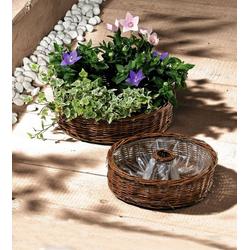 HomeLiving Blumentopf Pflanz-Rad
