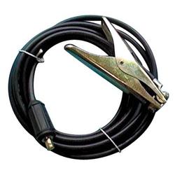 Massekabel konfektioniert 400 A Kabel-L.5m Kabel-D. 35 mm² Stecker KS 50 Gum.