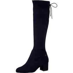 Tamaris Overknees Overknee-Stiefel blau 37