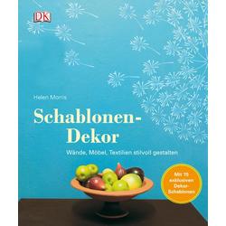 Schablonen-Dekor