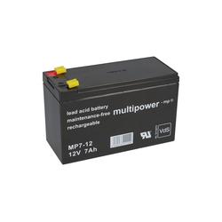 Multipower Multipower Blei-Akku MP7-12 Pb 12V / 7Ah VdS, Bleiakkus
