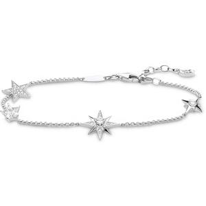 Thomas Sabo Damen-Armband Sterne silber 925 Sterlingsilber A1916-051-14-L19v