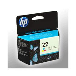 HP Tinte C9352AE  22  3-farbig