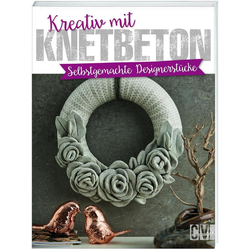 Kreativ mit Knetbeton als Buch von