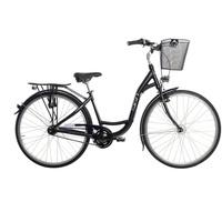SIGN Cityrad 2020 28 Zoll RH 43 cm 3-Gang Damen matt schwarz