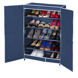 WENKO Kleiderschrank Schuhschrank Air mit 5 Böden für bis zu 15 Paar Schuhe