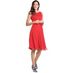 ASHLEY BROOKE by Heine A-Linien-Kleid Prinzesskleid rot 42