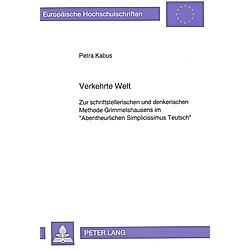 Verkehrte Welt. Petra Kabus  - Buch