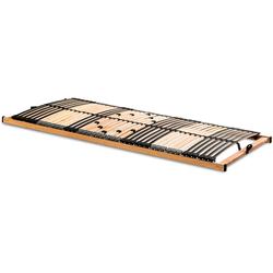 Lattenrost, Quadro Plus NV S3, Happy sleep, 42 Leisten, Kopfteil nicht verstellbar, Belastbarkeit bis 180 kg 90 cm x 200 cm x 6 cm