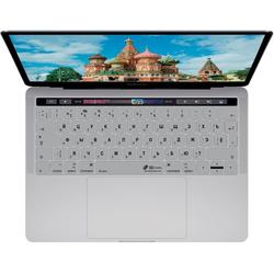 KB COVERS KB Covers Tastatur-Abdeckung Deutsch / ISO auf Kyrillisch Russisches Russland Layout Skin Schutz-Cover Hülle Passend für Apple MacBook Pro 13
