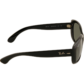 Ray Ban Jackie Ohh RB4101 601/58 58-17 black/polarized green classic