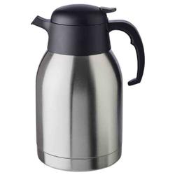 APS CLASSIC Isolierkanne, Getränkekanne für heiße und kalte Getränke, Maße (Ø x H): 14 x 25 cm, 2 Liter