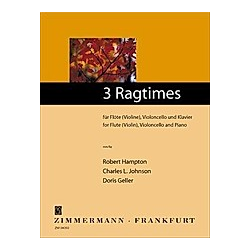 3 Ragtimes - Buch