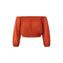 ABOUT YOU Damen Bluse 'Catharina' orange, Größe 40, 4772977