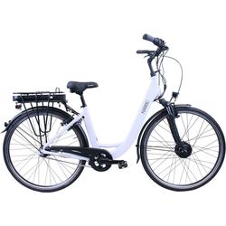 HAWK Bikes E-Bike HAWK eCity Wave, 7 Gang Shimano Nexus 7-Gang Schaltwerk, Frontmotor 250 W