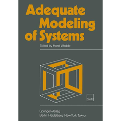 Adequate Modeling of Systems als Buch von
