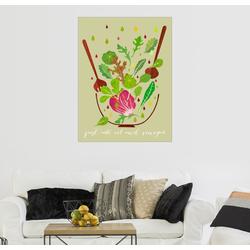 Posterlounge Wandbild, Just add oil and vinegar 30 cm x 40 cm