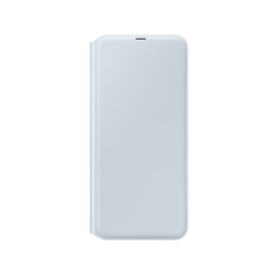 Samsung Galaxy A70 Hülle Samsung Weiß Klapphülle