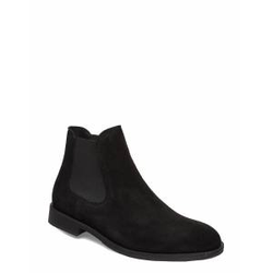 Selected Homme Slhlouis Suede Chelsea Boot B Noos Shoes Chelsea Boots Schwarz SELECTED HOMME Schwarz 43,42,44,45,41,40