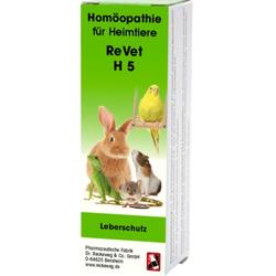 REVET H 5 Globuli f.Heimtiere