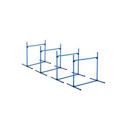 PawHut Agility-Hürde Agility Hürdenset als 4er Set