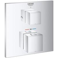 GROHE Grohtherm Cube Thermostat-Brausebatterie mit 2-Wege-Umstellung für Rapido SmartBox 24154000