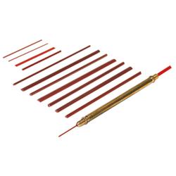 Kleinstfeilen Flach 50 x 3 x 0.3mm VPE: 20