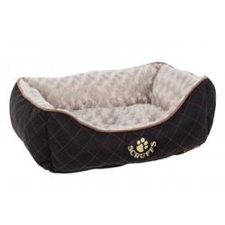 Scruffs Wilton Box Bed hondenmand Zwart  S