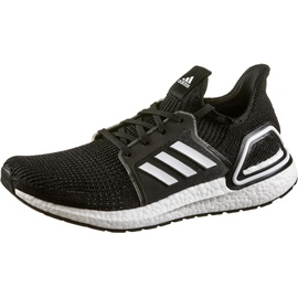 adidas Ultraboost 19 black-white/ white, 48