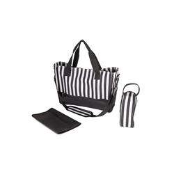 wuuhoo Wickeltasche Wickeltasche Amy mit Kinderwagen-Befestigung schwarz