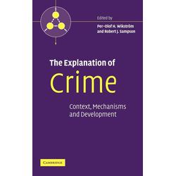 The Explanation of Crime als Buch von