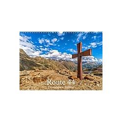Route 44. Timmelsjoch, Südtirol (Wandkalender 2021 DIN A3 quer)