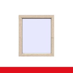 Festverglasung  Fenster fest im Rahmen Sheffield Oak Light