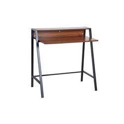 HOMCOM Schreibtisch Schreibtisch in Walnuss-Optik
