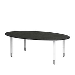 Tisch für Konferenzraum oval